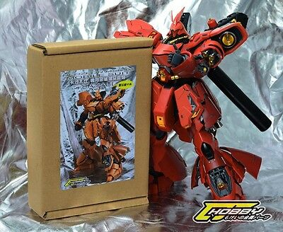 Ultimate Metal Detail-Up Part Set ver.CJ For 1/100 MG Sazabi ver Ka Gunda (GOLD)