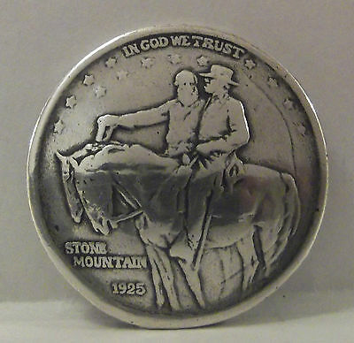 1925 Stone Mountain Concho Confederate Civil War Memorial To The South Soldiers