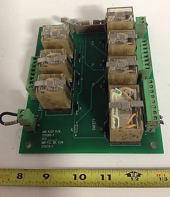 Motoman Safety Relay Circuit Board 137680-1 Rev.5