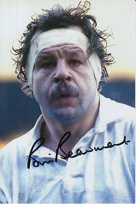 England Hand Signed Bill Beaumont 6X4 Photo 1.