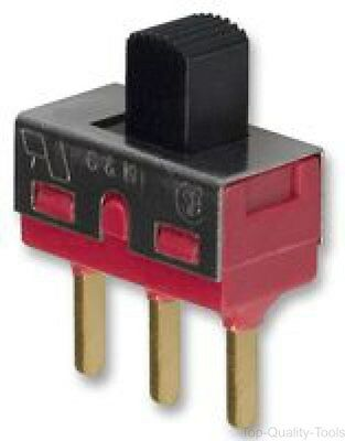 SLIDE SWITCH, SPDT, ON-OFF-ON, Part # 1103M2S3CQE2