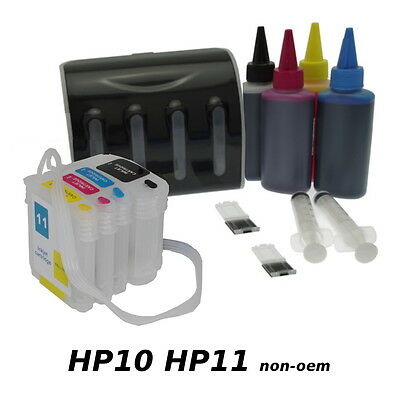 Encre Continue HP 10 HP11 - CISS Deluxe non-oem VIDE