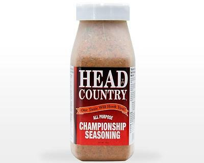 Lot of Two, 26 oz. HEAD COUNTRY ALL PURPOSE CHAMPIONSHIP SEASONING