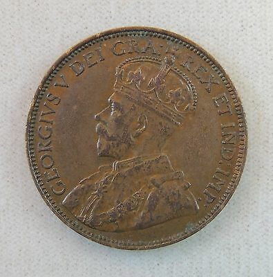 1920 Canada Large Cent - High Grade AU - Nice Coin