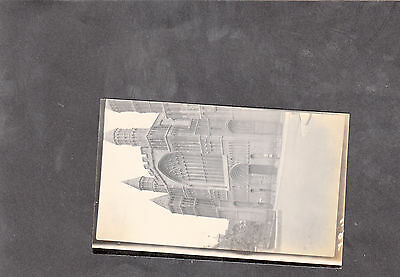C1930's Original Photo of the Front of Rochester Cathedral, Kent