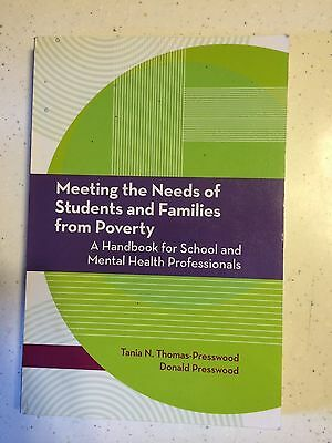 Meeting the Needs of Students and Families from Poverty : A Handbook for...