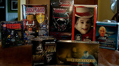 Factory Sealed (7) Box Lot Of Trading Cards