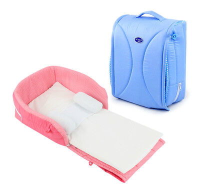 Baby Infant Portable Crib Cot Travel Close Secure Foldable Sleeper Bed Nursery
