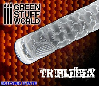 Rolling Pin - TRIPLEHEX Texture - Create your own bases - Ininity, Warhammer ...