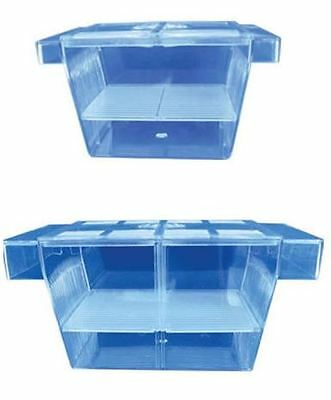 Hidom Aquarium Fish Breeding Box Fry Tank Hatchery Baby Trap