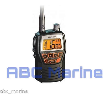 Cobra Marine Vhf Radio Mr Hh125 Boat, Sailing, Fishing **ideal Gift**