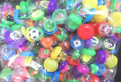 "500 1"" Toy filled vending capsules Bulk mix prizes vintage toys"