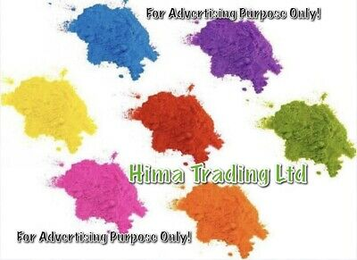 25g QUALITY CONCENTRATED FOOD CAKE COLOUR COLOURING POWDER 11 COLOURS AVAILABLE