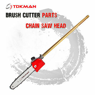 Brush Cutter Brushcutter Pruner Chain Saw Head Attachment Replacement Parts