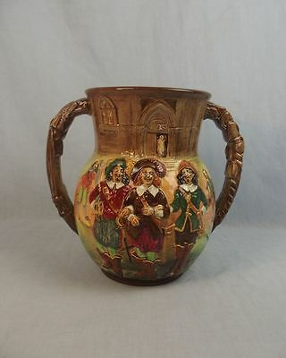 A Royal Doulton Three Musketeers Limited Edition Loving Cup by Charles Noke 1930