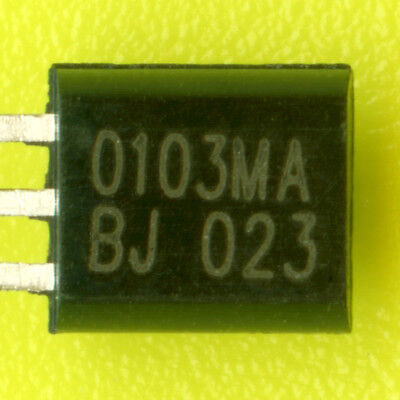 100× Z0103MA TRIAC 600V 1A (8A PEAK) 4Q LOGIC LEVEL 3mA SENSITIVE GATE TO92-3 †