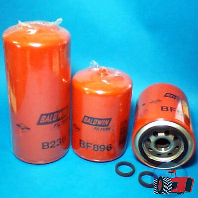 FLK2009 Oil Fuel Filter Kit JI Case 2094 Tractor w A504BD 6Cyl Diesel Engine