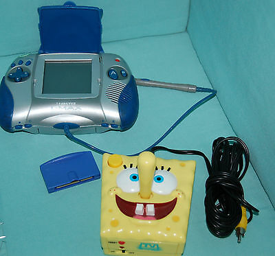 LEAP FROG LEAPSTER L-MAX EDUCATIONAL LEARNING GAME SYSTEM BLUE W/1 GAME