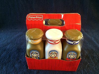2012 Fisher Price Milk Jugs & Carrier Lot
