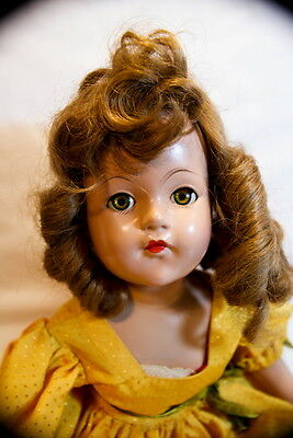 VINTAGE LARGE 1930 s EFFANBEE ANNE SHIRLEY COMPOSITION DOLL 22