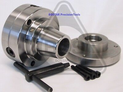 """5C Collet Chuck Closer With Semi-finished Adp. 1-1/2"""" x 8 Thread"""