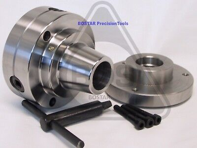 """BOSTAR  5C Collet Chuck Closer With Semi-finished Adp. 1-1/2"""" x 8 Thread"""