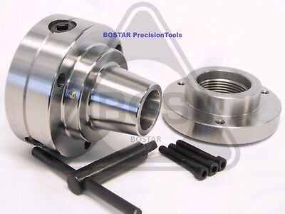 "BOSTAR  5C Collet Lathe Chuck Closer With Semi-finished Adp.2-1/4"" x 8 Thread"