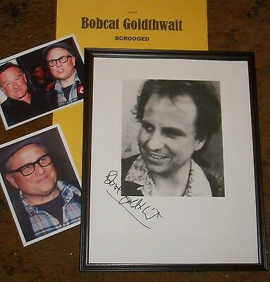BOBCAT GOLDTHWAIT Autographed photo & Photos - Very Unique