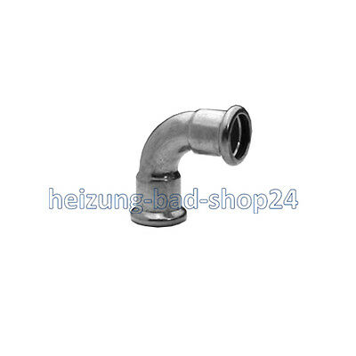 Sanha Copper Press Fitting Curve II, 90°, Nr. 6002 a, for Pipe