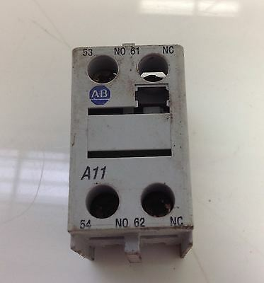 Allen Bradley  10A Front Mount Aux Contact Ser.a Lot Of 6 100-F A11