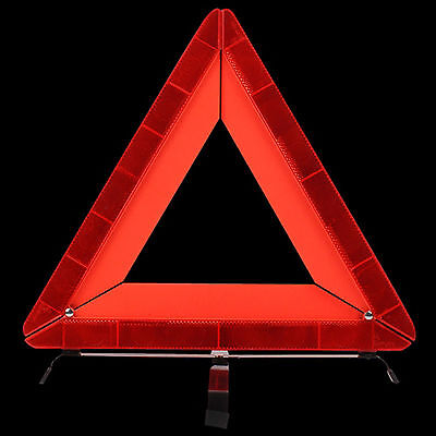 Portable Car Safety Warning Folding Tripod Reflective Triangle Parking Sign