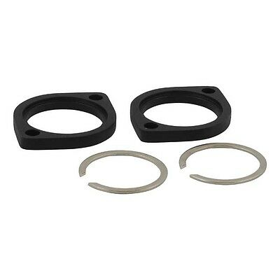Mcs H-D Black Exhaust Flange And Retaining Ring Kit Xl/Evo/Twin-Cam Bc35411 T