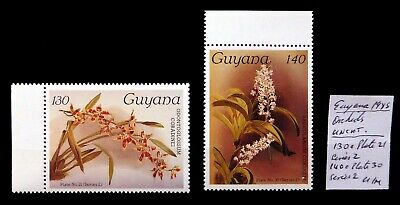 GUYANA Orchids 38 Different Unmounted Mint Very High Cat NEW SALE PRICE FP831