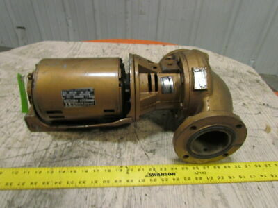 "Bell & Gossett B37TA79 3""PD Flanged Bronze In-Line Booster Pump 3/4Hp 3PH M80039"