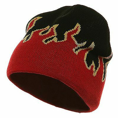 New Flame Short Fire Beanie Winter Ski Hat Skull Cap Unisex Ski hat Beanie