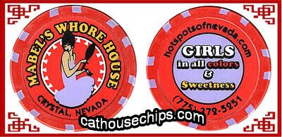 Mabel's Whore House Crystal, NEVADA LEGAL BROTHEL CATHOUSE COLLECTABLE