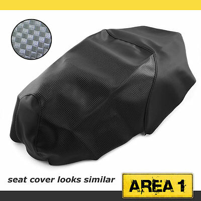 Seat Cover Sym Fiddle 50 up to 2008, Carbon-Look Styling