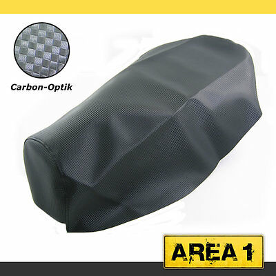 Seat Cover Jonway 150T-28 4T / Delta 150 4T Carbon Look