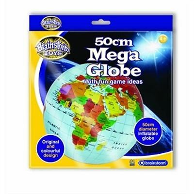 Fact Finders 50cm Diameter Fun Inflatable Educational Mega Globe