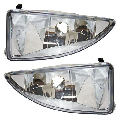 00-04 Ford Focus Set of Fog Lights with Mounting Bracket