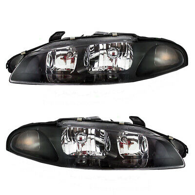 97-99 Mitsubishi Eclipse Set of Headlights