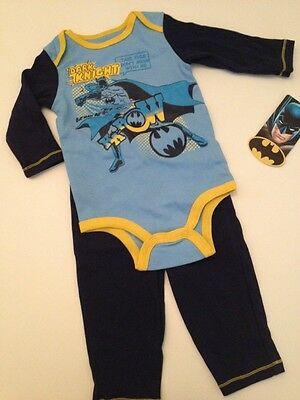 bc0c836bc BABY BOY FOOTED outfit DC COMICS size 3 to 6 months blue Superman 81 ...