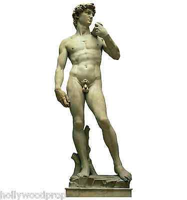 Michelangelo's Statue Of David Italy Italian Nude Male Standup Standee Cutout