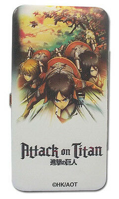 Attack on Titan Group Checkbook Wallet Anime Licensed NEW