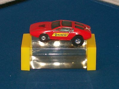 Vintage Aurora Mangusta Mongoose #1400 Slot Car Cars Red With Box