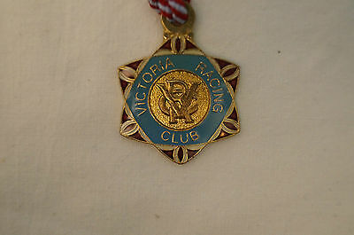 VRC - Victoria Racing Club - Collectable - 1997 - Members Badge with Cord.