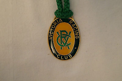 VRC - Victoria Racing Club - Collectable - 1991 - Members Badge with Cord.