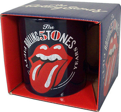 Rolling Stones: 50th Anniversary Ceramic Coffee / Tea Mug - New Official In Box
