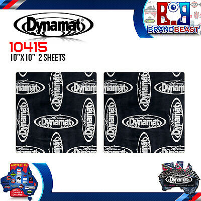 "Dynamat Xtreme Speaker Kit 2 X 10"" Sheets Pack 10415 Car Audio Sound Deadening"