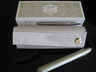 ghd ARCTIC GOLD Classic Styler Case/Roll Mat mk5 V Hair Straightener CHRISTMAS